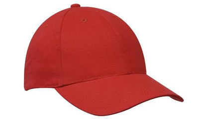 Headwear-Headwear Brushed Heavy Cotton-Red / Free Size-Uniform Wholesalers - 24