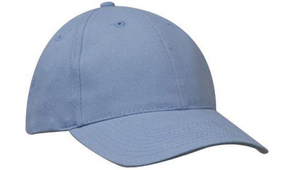 Headwear-Headwear Brushed Heavy Cotton-Sky / Free Size-Uniform Wholesalers - 28