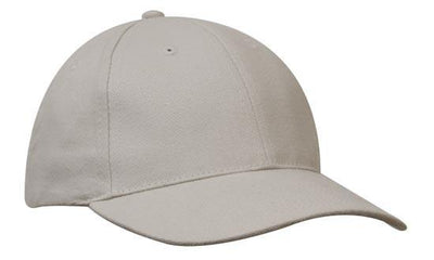 Headwear-Headwear Brushed Heavy Cotton-Stone / Free Size-Uniform Wholesalers - 29