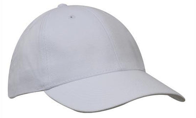 Headwear-Headwear Brushed Heavy Cotton-White / Free Size-Uniform Wholesalers - 30