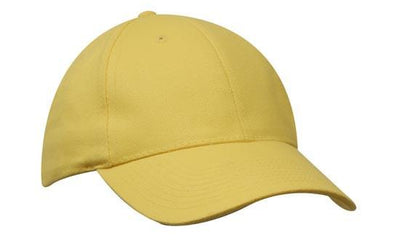 Headwear-Headwear Brushed Heavy Cotton-Yellow / Free Size-Uniform Wholesalers - 35