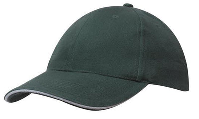 Headwear-Headwear Brushed Heavy Cotton with Sandwich Trim-Bottle/Gold / Free Size-Uniform Wholesalers - 6