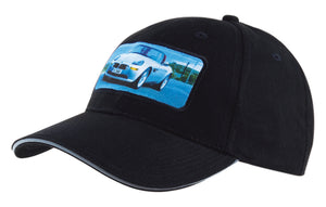 Headwear Brushed Heavy Cotton with Reflective Sandwich & Strap (4213)- On Sale