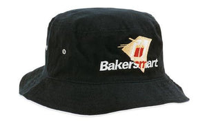 Headwear-Headwear Brushed Sports Twill Bucket Hat--Uniform Wholesalers - 1