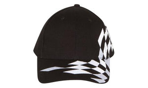 Headwear Brushed Heavy Cotton with Checks Cap (4224)
