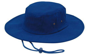 Headwear-Headwear Brushed Heavy Cotton Hat-Royal / S-Uniform Wholesalers - 6