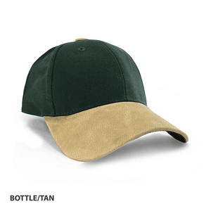 Grace Collection   Heavy Brushed Cotton Suede Peak Cap-(AH010/HE010 )