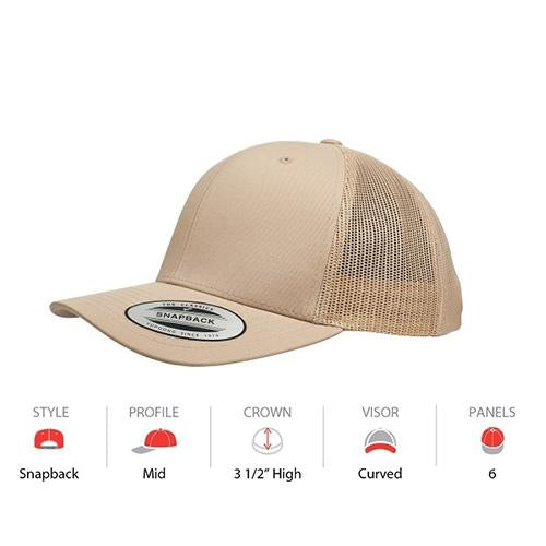YUPOONG Youth Classic Retro Trucker - (6606Y)