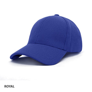 Grace Collection PQ Mesh Plain Sandwich Design Cap-( AH150/HE150)