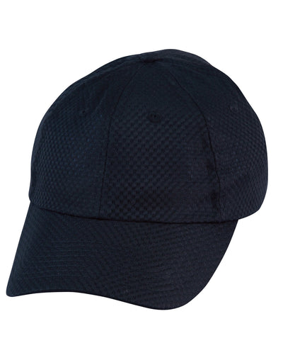 Winning Spirit-Winning Spirit Athletic Mesh Cap-Navy-Uniform Wholesalers - 2