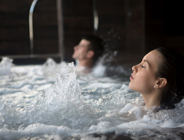 Relax into our soothing Jacuzzi