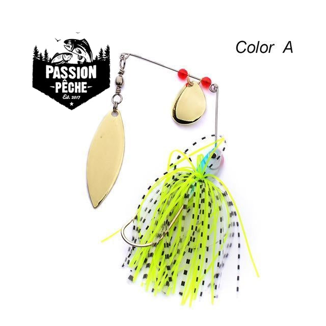 Gold Spinnerbait 16g -  - Passion Pêche