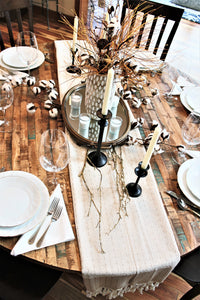 Easy Holiday Tablescapes