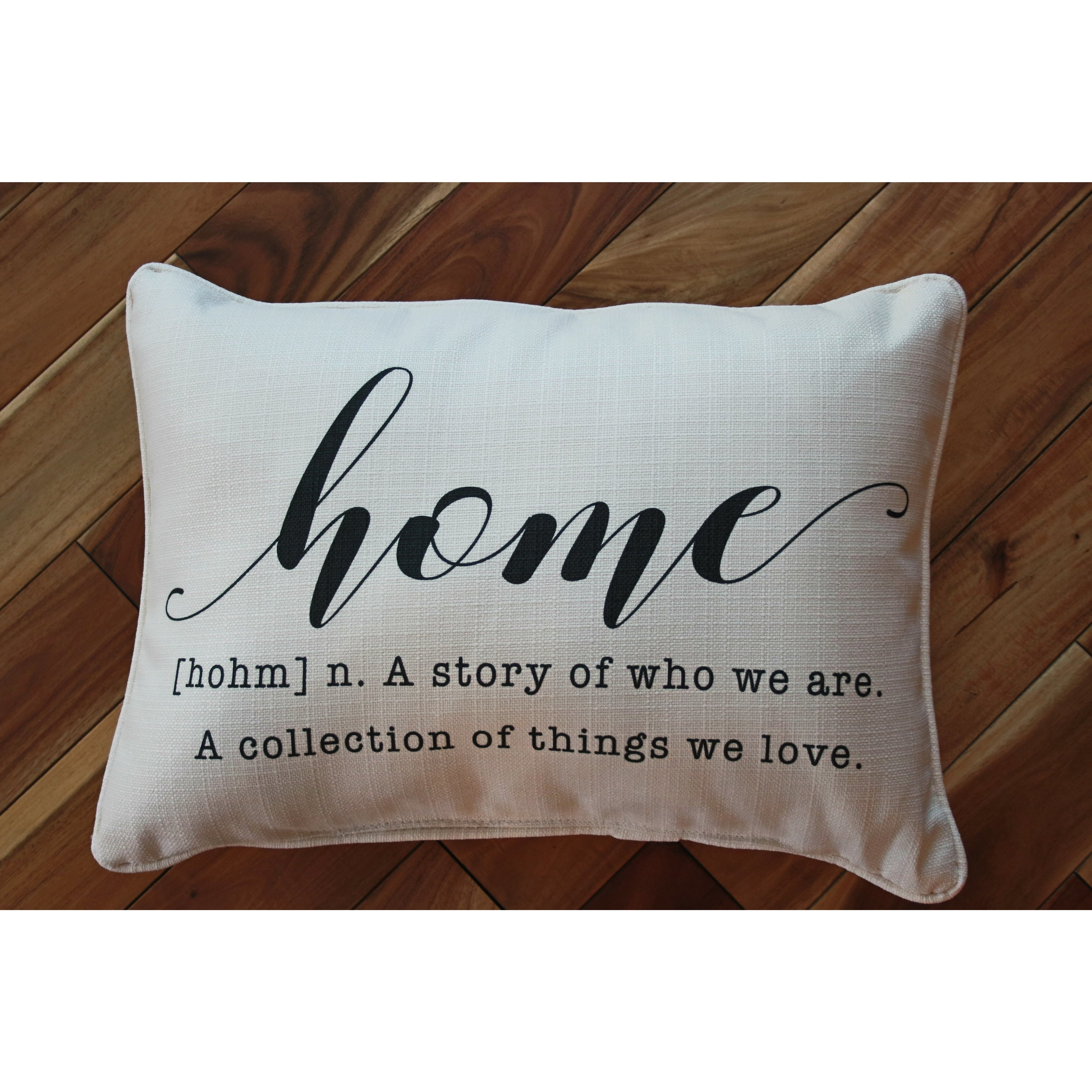 Home Definition Pillow