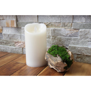 Smooth Wax Pillar Candle