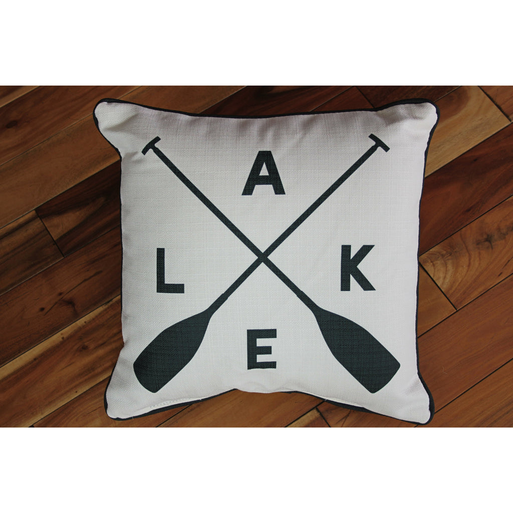 Lake Paddle Pillow