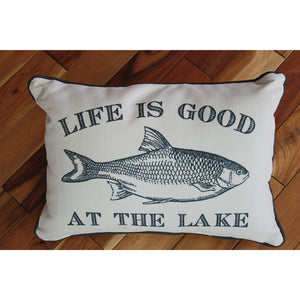 Life Is Good At The Lake Pillow