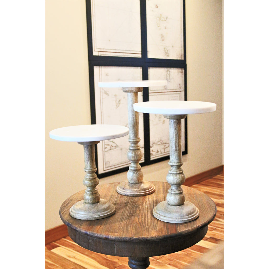 SD Wooden Display Stands - Set of 3