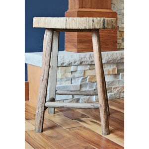 Wooden Accent Stool