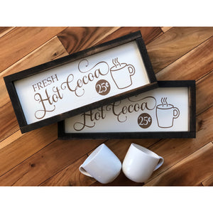 Hot Cocoa Sign