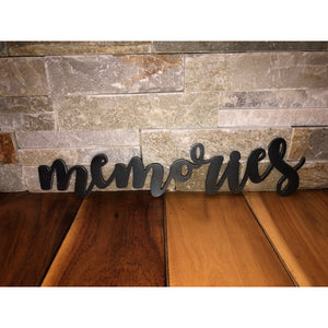 Metal Memories Sign