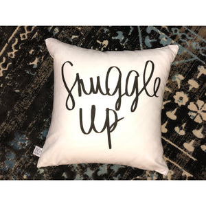 Snuggle Up Pillow Cover