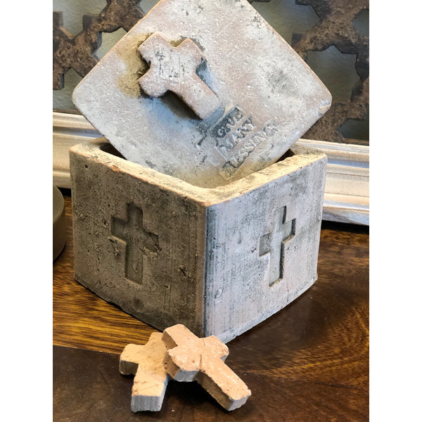 Many Blessings Clay Cross Box