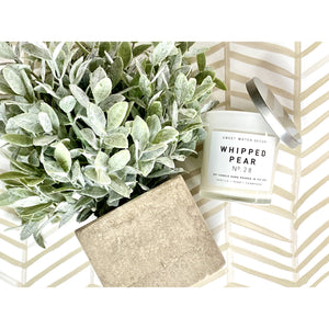 Whipped Pear Candle