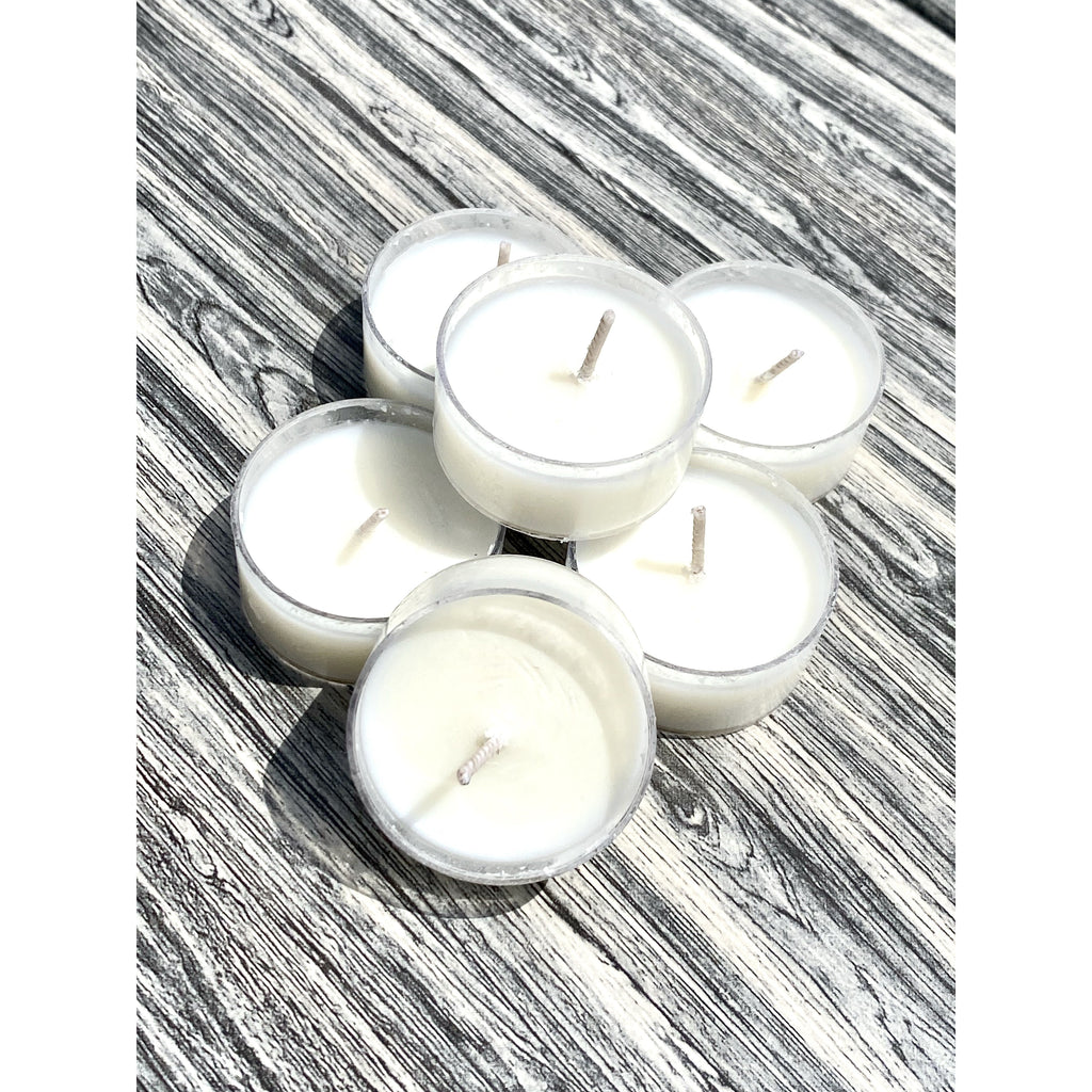 Spa Day Tea Light Candles (Set of 6)