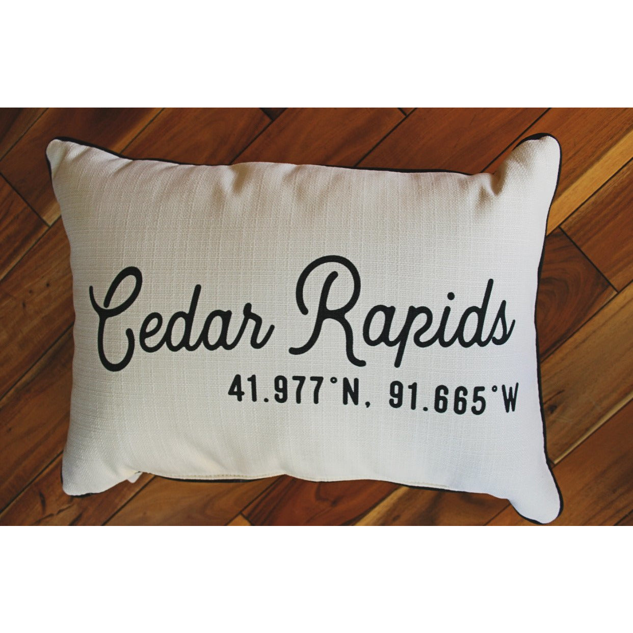 City Coordinates Pillow