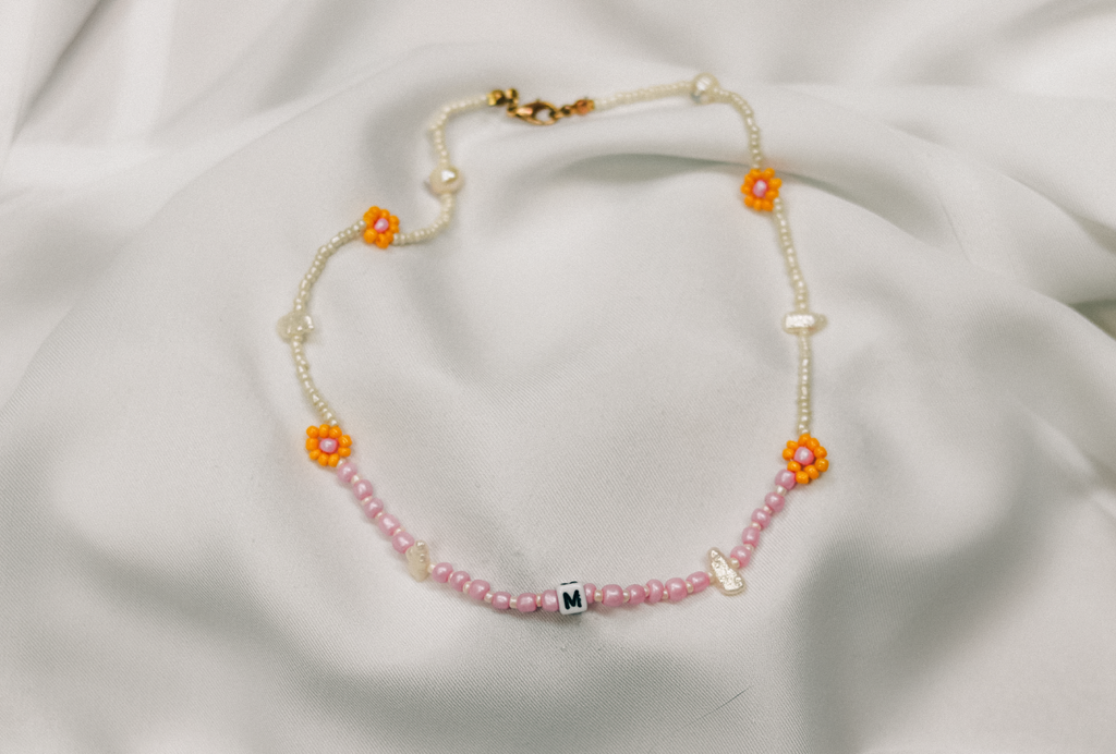 Daisy Chain Pearl & Pink