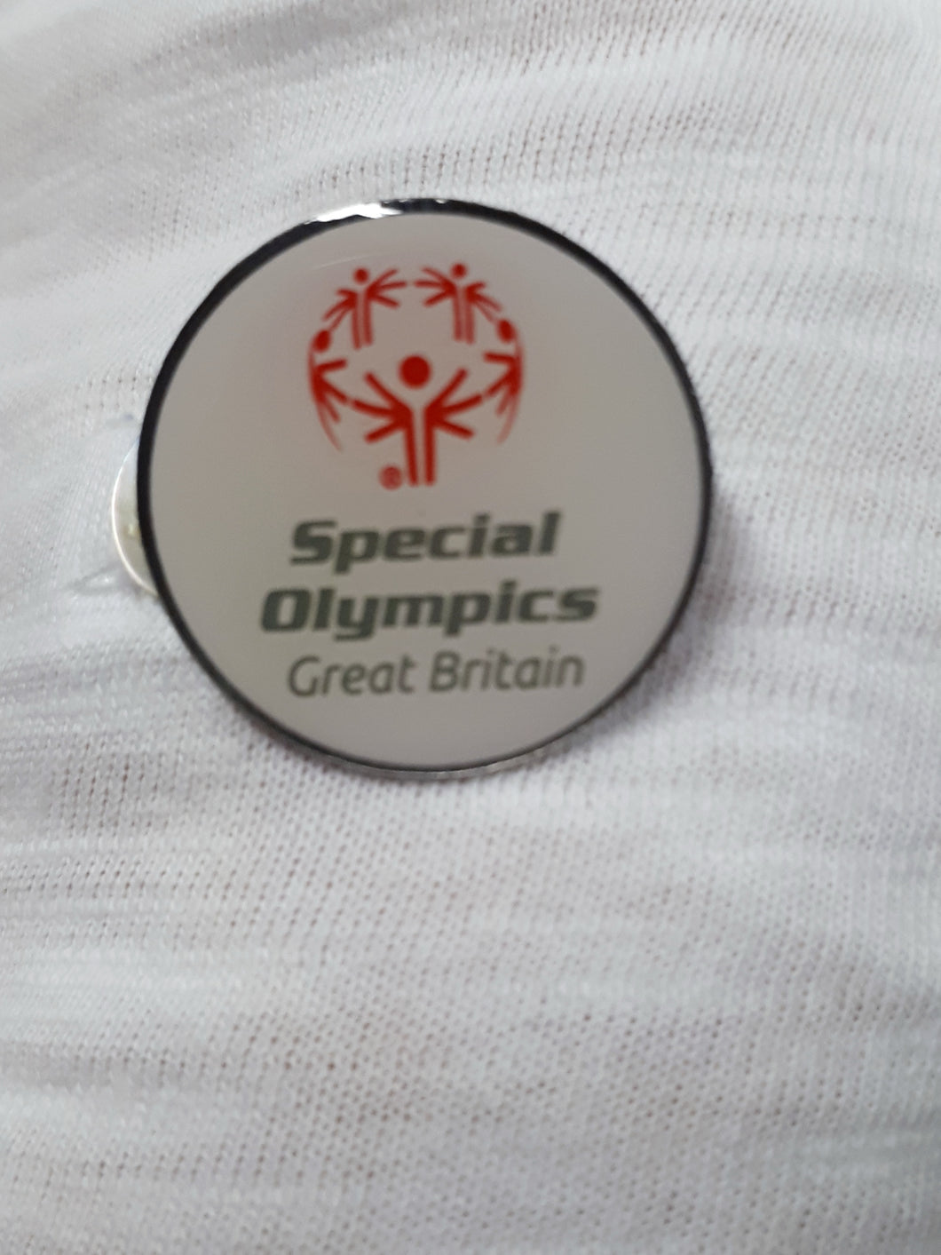 SOGB Round Pin Badge