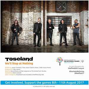 Toseland - 2017 National Summer Games Anthem CD