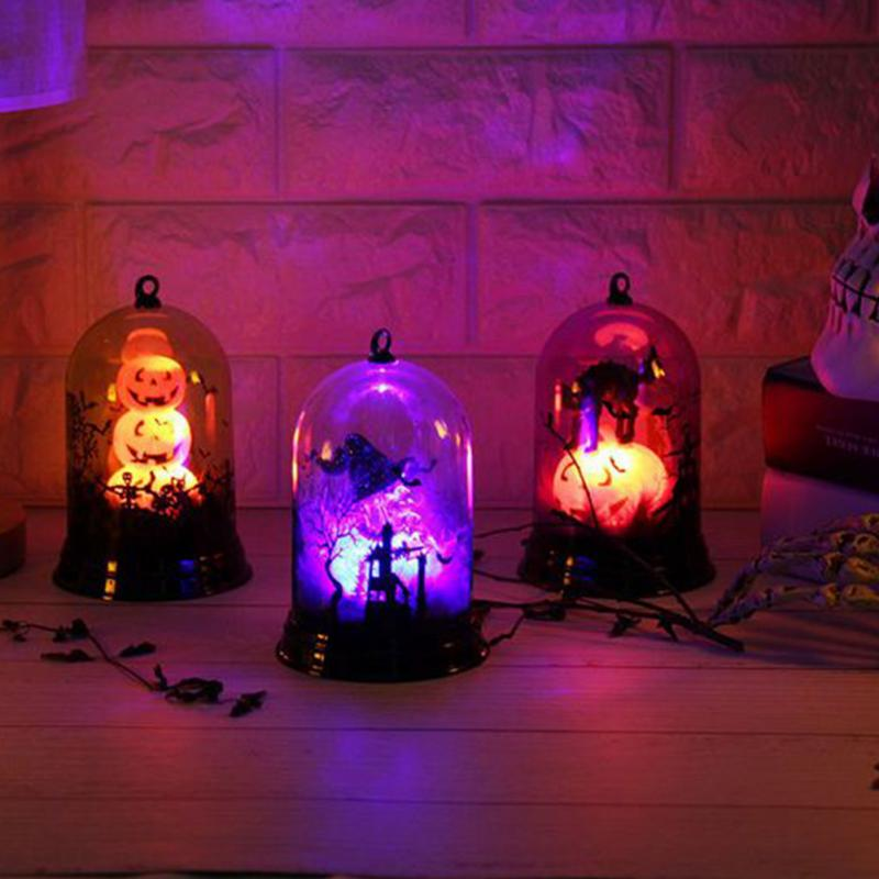 Viking - LED Lantern Pumpkin Halloween Light