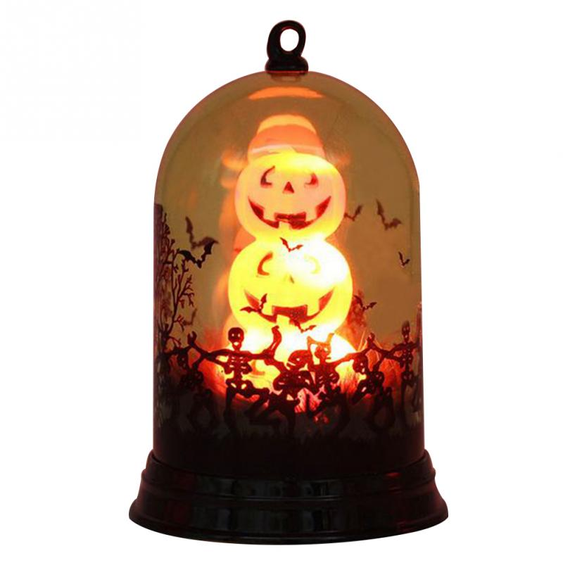 Tee4trend - LED Lantern Pumpkin Halloween Light