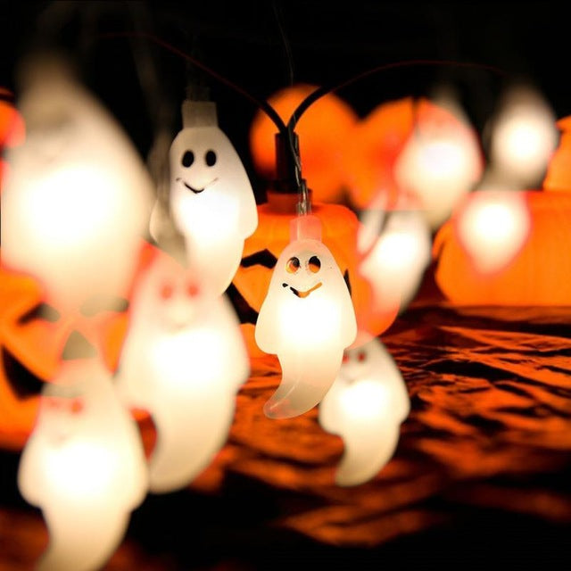 Tee4trend - Hanging Halloween Pumpkin Led Light