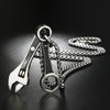 Mechanic - Stainless Steel Wrench Spanner Necklace
