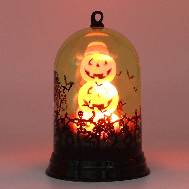 Viking - LED Lantern Pumpkin Halloween Lights