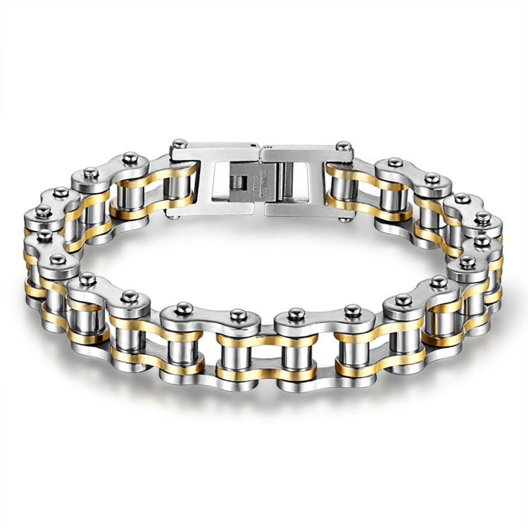 Mechanic - Stainless Steel Biker Bracelet