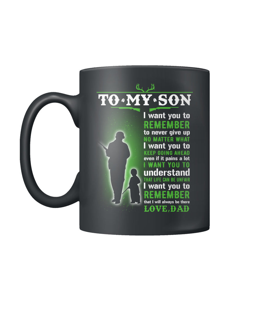 Deer hunting I will always be there mug