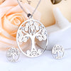 Viking - Yggdrasil Jewery Set - Tree Pendant Necklace Earring