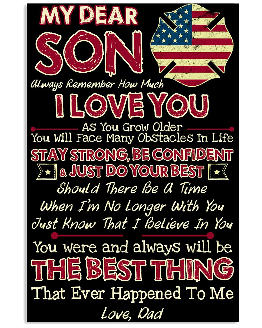 Firefighter Son Dad The Best Thing