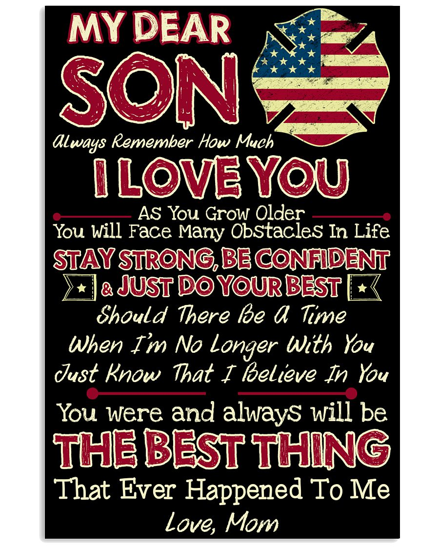 Firefighter Son Mom The Best Thing