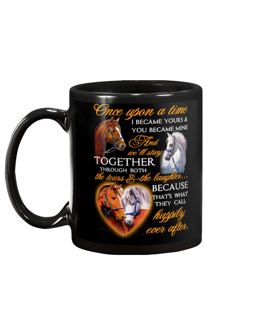 Horse Once Upon A Time Love Mug