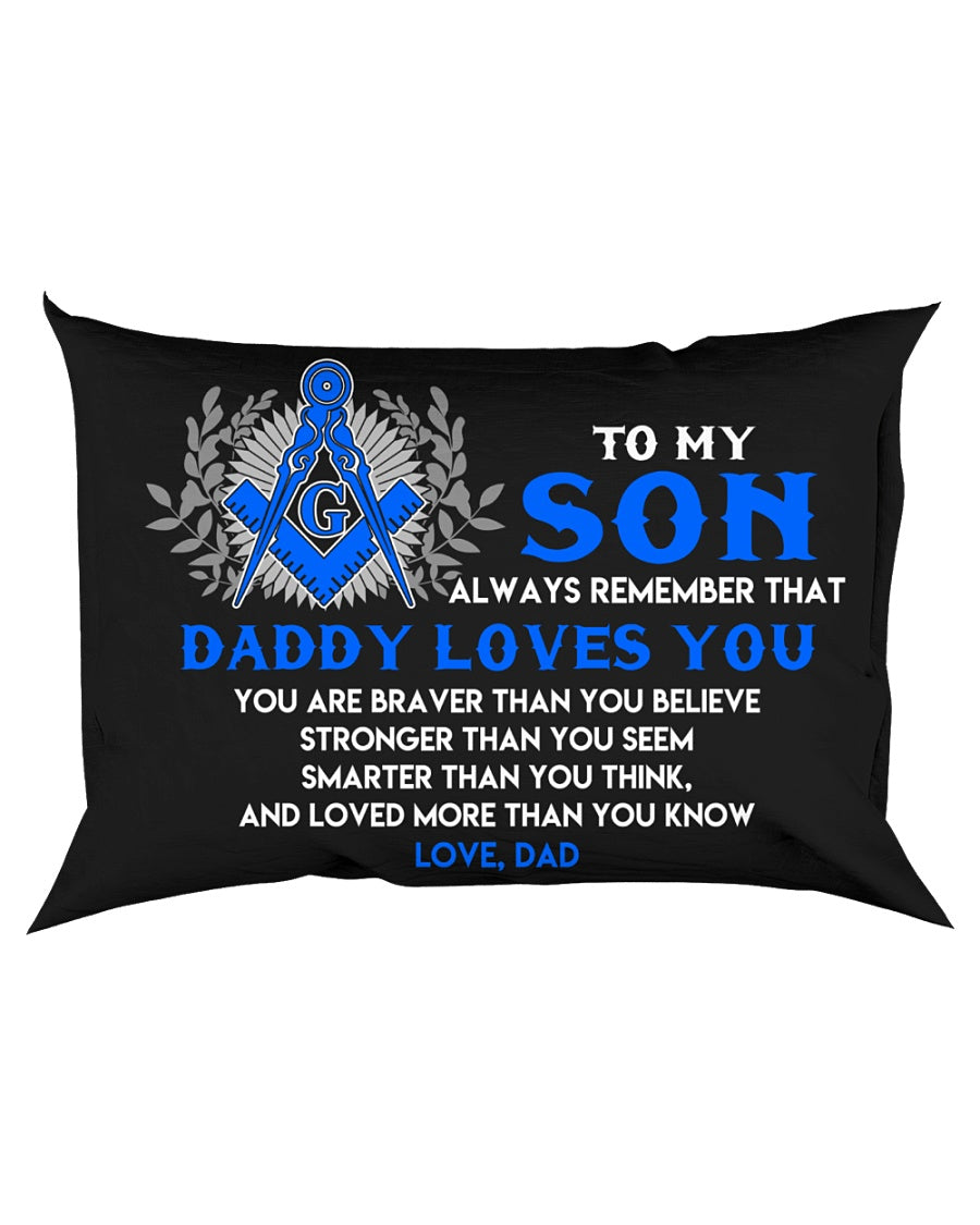 Freemason Son Dad Daddy Loves You Son Dad