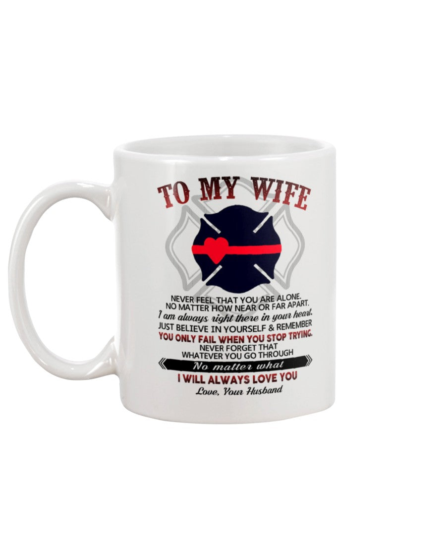 Firefighter Wife Near Or Far Apart