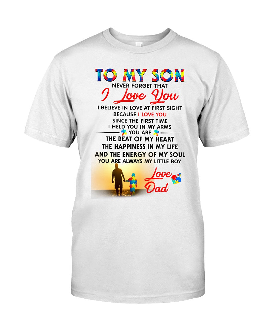 d0db192c5 Autism Love At First Sight Son Dad - AteezonStore