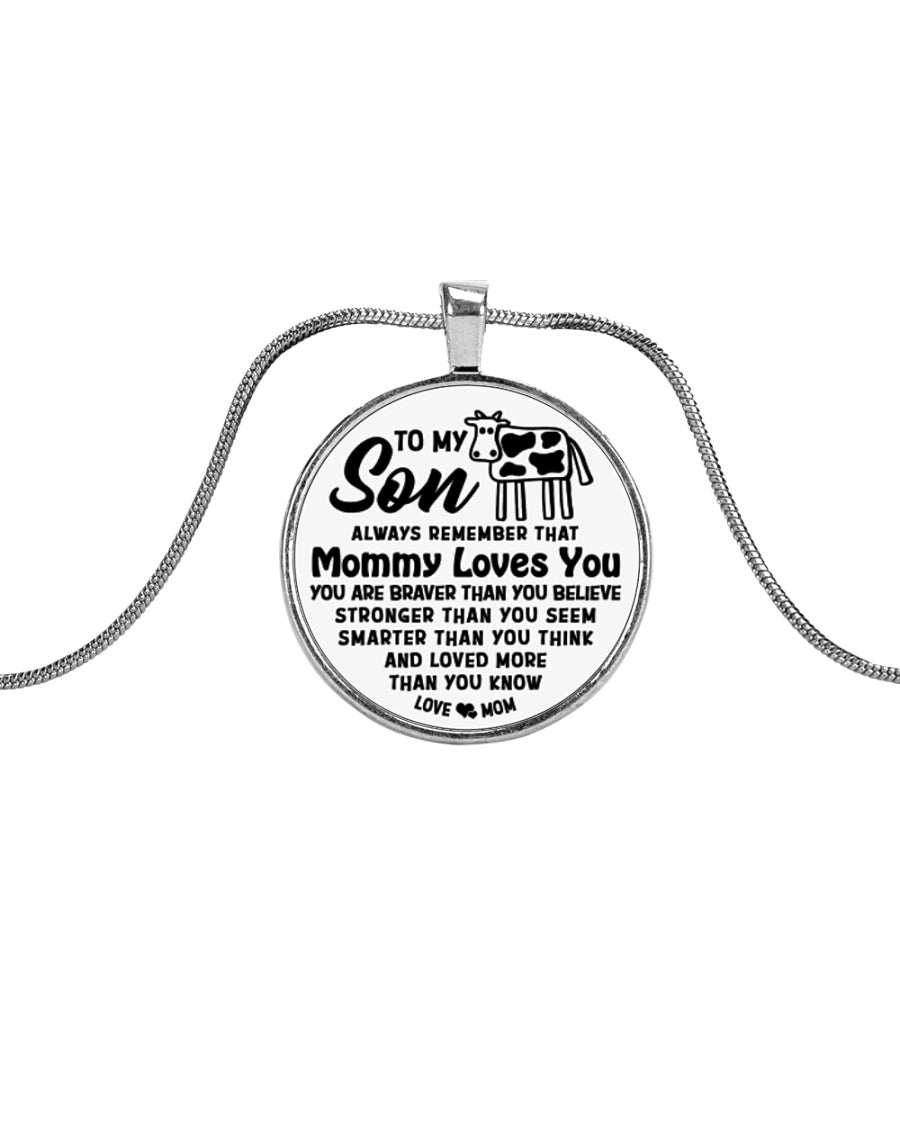 Cow Mommy Loves You Son Mom