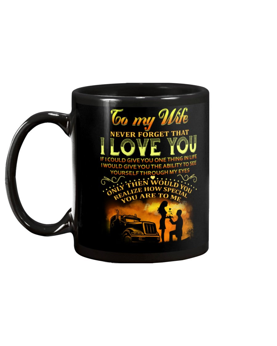 Trucker How Special You Are Mug Wife