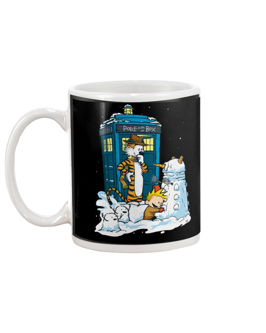 Doctor Who Snoopy Christmas Mug